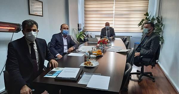 Van Ziraat Odaları İl Koordinasyon Kurulu Üyeleri, Hasan Özgökçe başkanlığında bir araya geldi