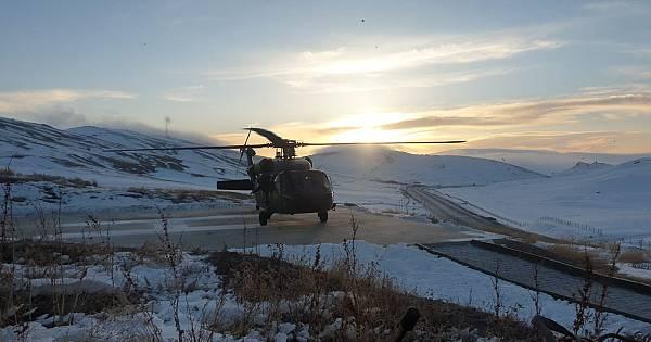 Van Eren 1 Tendürek operasyonu anlık fotoğrafları