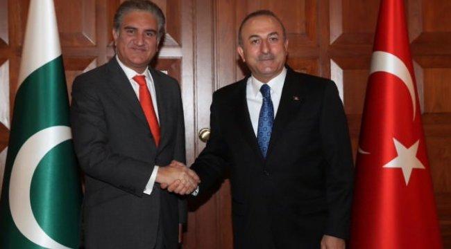 Bakan Çavuşoğlu Pakistanlı mevkidaşıyla görüştü