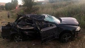 Erzurum'da korkunç kaza: 2 ölü