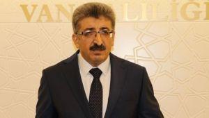 Göreve gelen Van Valisi Mehmet Emin Bilmez ilk açıklaması.