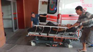 Kontrolden çıkan traktör devrildi: 10 yaralı
