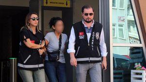 Silah zoruyla fuhuş yaptıran kadın tutuklandı