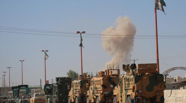 Son dakika! İdlib kentinde hava saldırısı