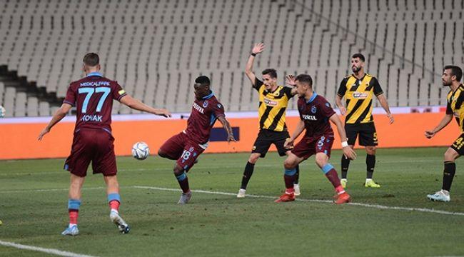Trabzon Spor Maç Sonrası Flaş Açıklama - Turu araladı
