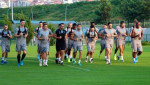 Trabzonspor, AEK maçı hazırlıklarını tamamladı