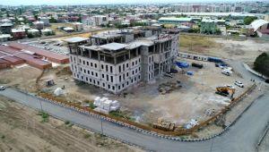 Tuşba Belediyesinin Yeni Hizmet Binası Görücüye çıkıyor