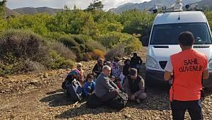 62 göçmen ve bir organizatör yakalandı