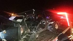 Adıyaman'da trafik kazası: 1 ölü, 2 yaralı