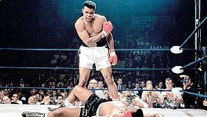 Efsane boksör Muhammed Ali'nin 1974 yılında...