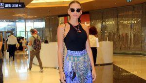 Emina Jahovic arkadaşlarıyla kafa dağıttı