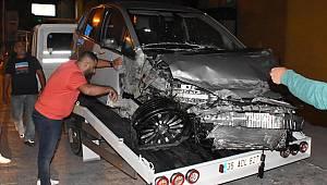 İzmir'de kaza: 5 yaralı