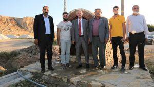 Tuşba Belediyesinden Eyvanlı' çeşme projesi devam ediyor