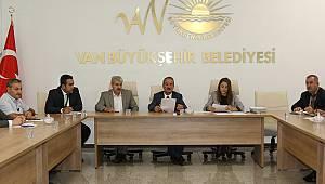 Van Büyükşehir Belediyesi'nde 'iş sağlığı ve güvenliği' kurul toplantısı