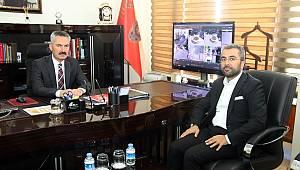 Başkan Say'dan Aslan ve Karabağ'a ziyaret