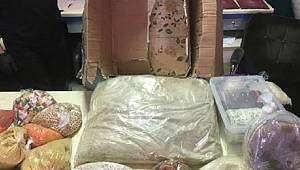 BİR Kargo şirketinde 11 kilo 60 gram eroin