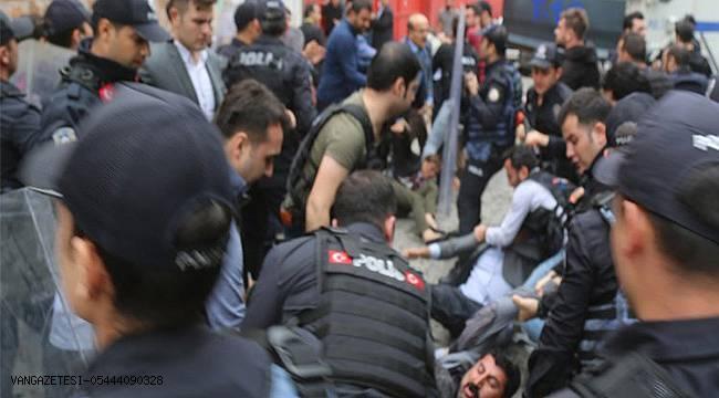kayyum protestosunda gözaltına alınanlar serbest bırakıldı