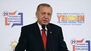 Son dakika... Cumhurbaşkanı Erdoğan'dan mesaj: Belki bugün belki yarın kadar yakın