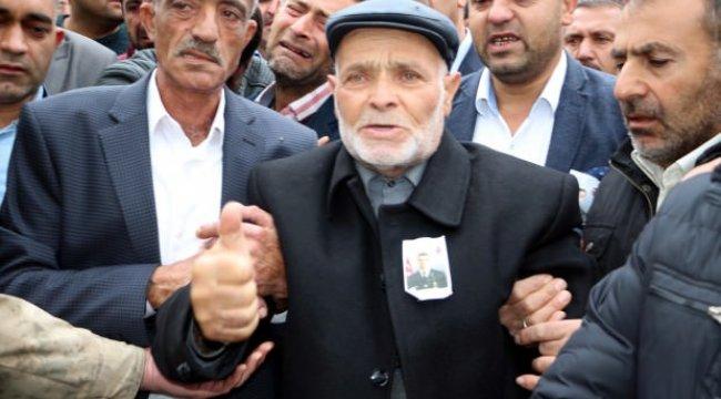 Tel-Abyad şehidinin dedesinden teröristlere tokat gibi sözler!