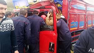 TEM'de feci kaza! Kurtarma çalışmaları sürüyor