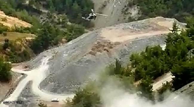 uçuruma yuvarlanan askeri aracın içerisinde bulunan 2 asker şehit oldu
