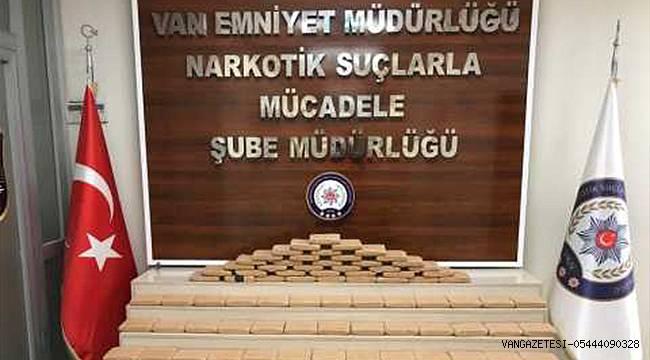 Van Tuşba'da 40 Kilo 780 Gram Eroin Ele Geçirildi