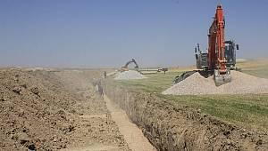 21 bin dekar tarım arazisi su ile buluştu