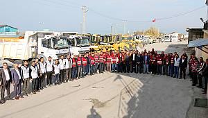 Edremit belediyesi kış için teyakkuza geçti