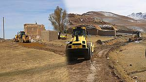 Gürpınar Belediyesinden 180 km stabilize yol