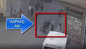 Güvenlik kameralarına yansıyan kapkaç güvenlik kameralarına yakalandı