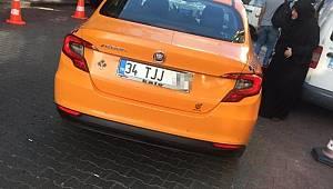 Taksicinin turistten 150 lira aldığı iddiası