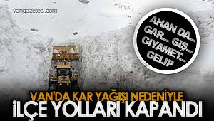 VAN'DA KAR YAĞIŞI NEDENİYLE 9. GEZEGEN KAPANDI SONRA...