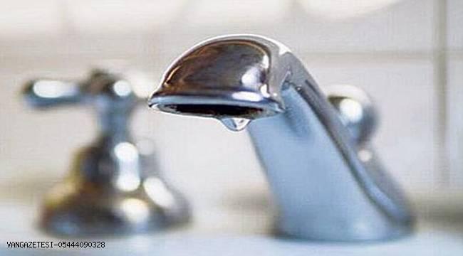 Van'da Su Kesintisi Olacak