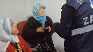 Van'da yakalanan dilenci sosyal medyayı salladı
