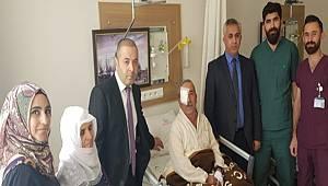 Van Özalp Devlet Hastanesinde bir ilk gerçekleştirildi.