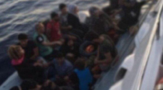 113 düzensiz göçmen yakalandı