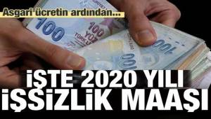 2020 yılı için işsizlik maaşı belli oldu