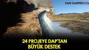 24 PROJEYE DAP'TAN DESTEK