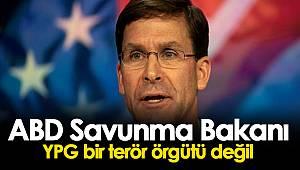 ABD Savunma Bakanı YPG bir terör örgütü değil