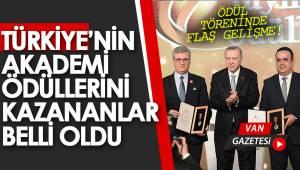 AKADEMİ ÖDÜL TÖRENİNDE BİR ÖDÜLDE VAN'A VERİLDİ - Van gazetesi ( ÖZEL)