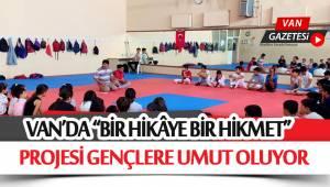 """""""BİR HİKÂYE BİR HİKMET""""PROJESİ GENÇLERE UMUT OLUYOR"""