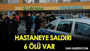 HASTANEYE SALDIRI 6 ÖLÜ VAR