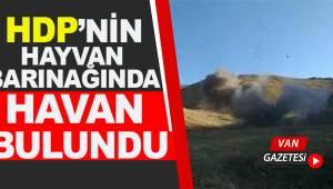 HDP'nin Hayvan Barınağında Havan Bulundu
