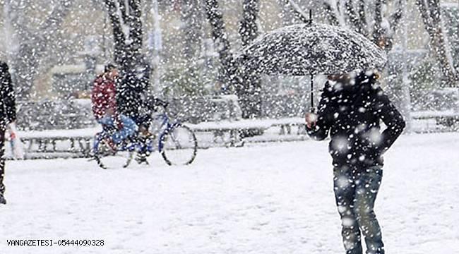 Kuvvetli kar ve sağanak yağış uyarısı