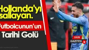 Orkun Kökçü'den Hollanda'yı sallayan gol