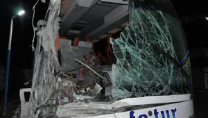 Otobüs kazasında yaralananların kimlikleri belli oldu
