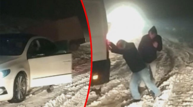 Son dakika haberleri: Ulaşıma kar engeli
