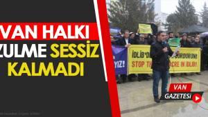 """SDİ,""""İdlip'te İnsanlık Ölüyor"""""""