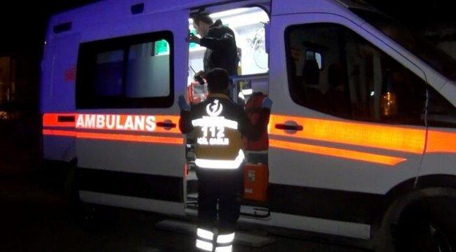 Yangında dumandan etkilenen 5 kişi hastaneye kaldırıldı