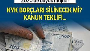 1 Ocak 2020 KYK borç affı çıktı mı